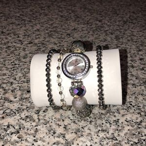 Jewelry - Watch and bracelet Set